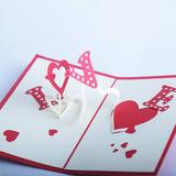 """3D поздравительная открытка """"Love"""""""
